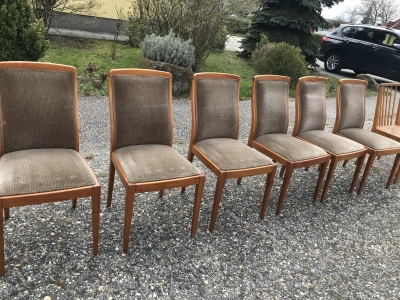 6 db szék 10000/db